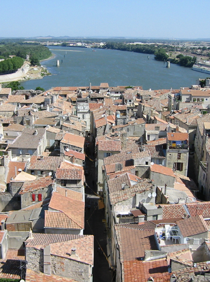 meeting point of the Rhone and the ancient Cardo