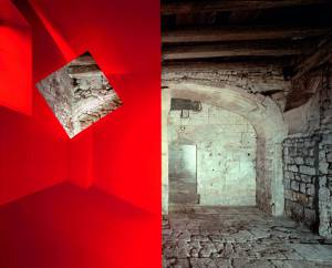 Georges Rousse, né en 1947, Construction n°3, tirage cibachrome 2006. © ADAGP, Paris 2014